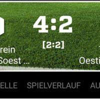 Die Zweite Mannschaft verliert gegen SV Westfalia Soest II