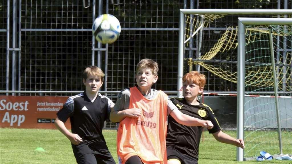 Fußballcamp in Oestinghausen ist eine Erfolgsgeschichte