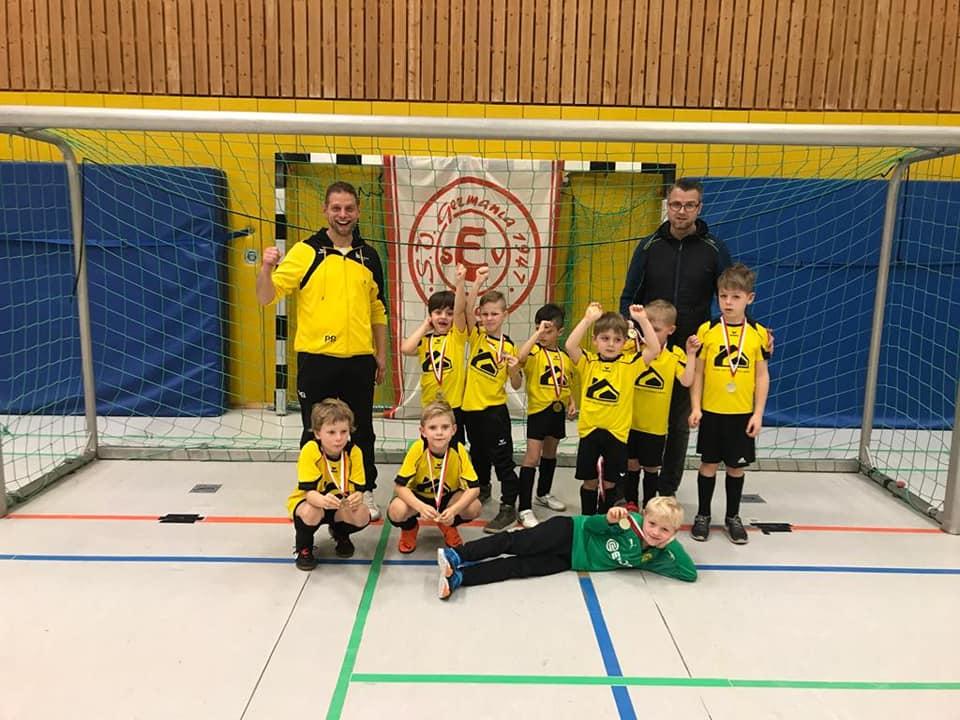 G-Jugend beim Turnier von SV Germania Esbeck