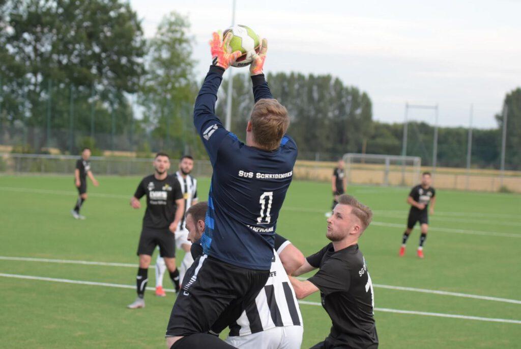 Pokalspiel in Scheidingen